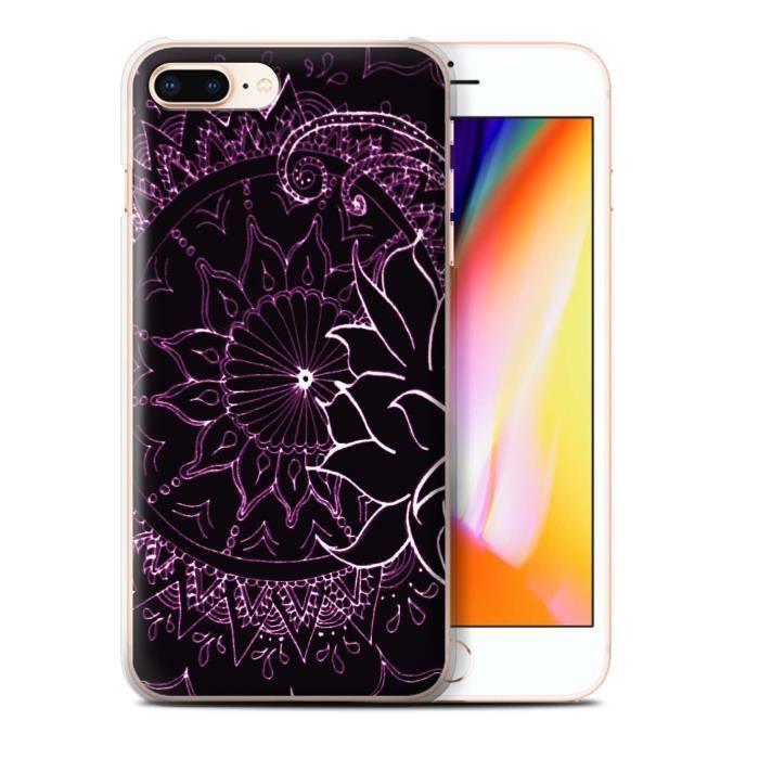 coque iphone 8 plus coleur paisley