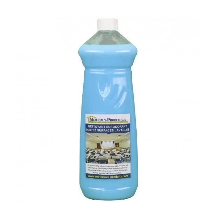 Nettoyant surodorant toutes surfaces lavables Citron Vert - 750 ml - Citron