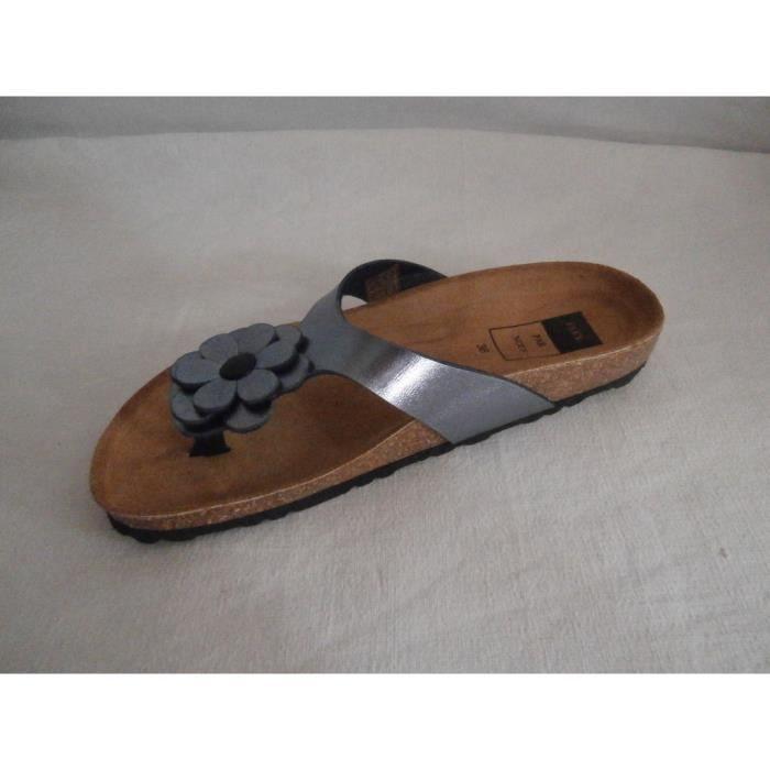 sandales nesite bleu gris elue par nous