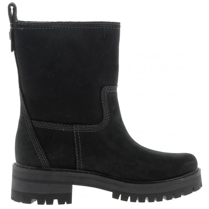TIMBERLAND - Timberland Courma Yeur Valley Femme Bottes Noir Ibv2cYk