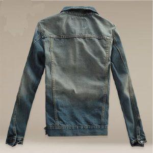 3ffcf1e0c1b5 ... VESTE Veste Homme en jean à capuche Veste Hommes baggy ...
