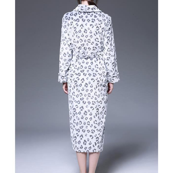 1PCS Robe de Chambre Kimono/Peignoir de Bain pour Femme et Homme ...