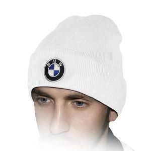 CHAPEAU - BOB BMW Chapeau D'hiver Blanc   Brodé Auto Logo Hommes