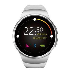 TÉLÉPHONE FACTICE NOVA ARGENTE Smart Watch KW18 Cardio fréquencemètr