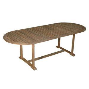 Table de jardin largeur 75 cm - Achat / Vente pas cher