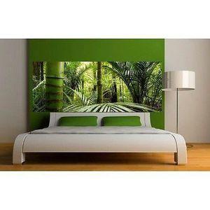 Papier peint Tête de lit Bambous 3626 Dimensions - 320x125cm - Achat ...