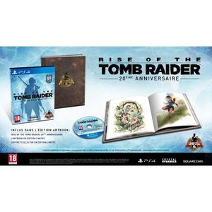 JEU PS4 Rise of the Tomb Raider - 20 Year Anniversary - AR