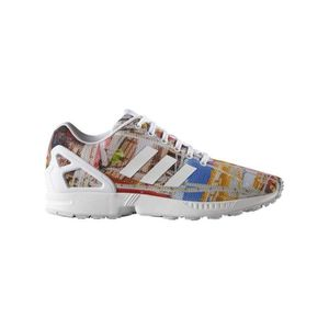 newest 6c5c5 f188f BASKET MULTICOLOR SNEAKERS ADIDAS ZX FLUX