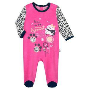 Ensemble de vêtements Pyjama bébé velours Snowbear - Taille - 36 mois (9 e0359587282