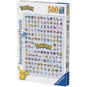 PUZZLE POKEMON Puzzle Pokédex Première Génération 500 pcs