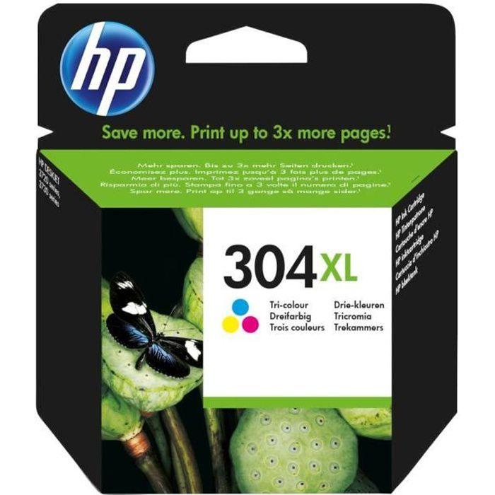 HP Cartouche d'encre 304XL - Trois couleurs