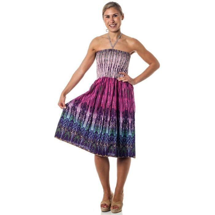 Craze One-size-fits-Most Tube Dress - Coverup - Sparks tribaux (Many colors)