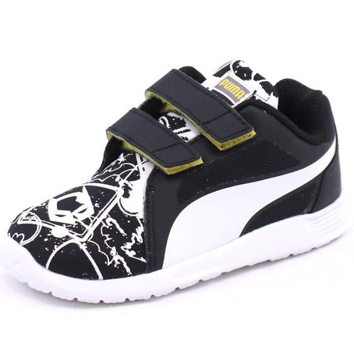 Garçon Batman Street St Puma Evo Noir Trainer Chaussures clFK3TJ1
