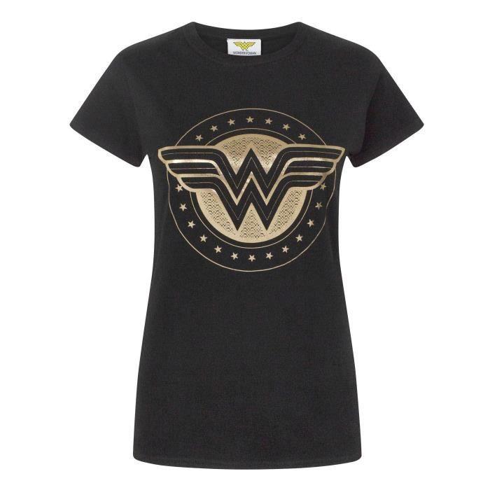Woman Blason T shirt Wonder Femme Cuivré COd77x