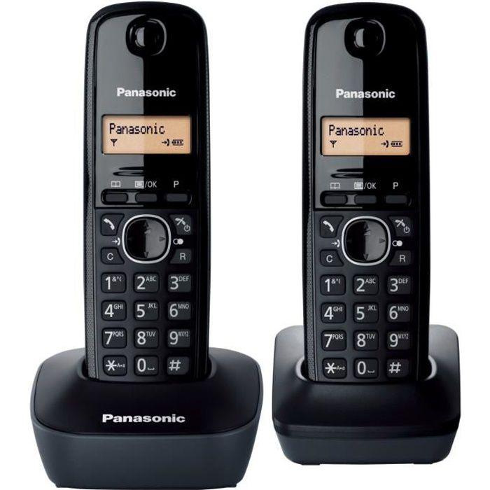 Telephone fixe sans fil avec repondeur 4 combines - Achat   Vente ... a793f113c54d