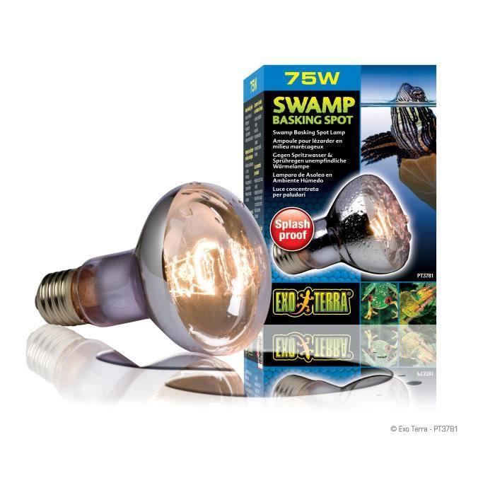 ÉCLAIRAGE SWAMP BASKING SPOT ampoule 75 W