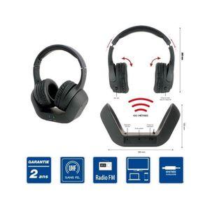 casque tv audio sans fil rechargeable achat vente casque tv audio sans fil rechargeable pas. Black Bedroom Furniture Sets. Home Design Ideas