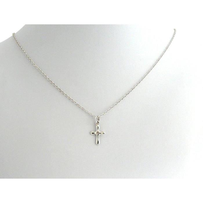 Gemshine - Femmes - Collier - Diamond - 925 - Croix