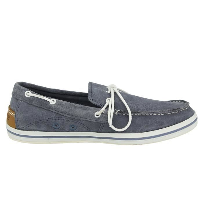 Timberland CASCO BAY Chaussures Bateaux Homme Cuir vT3eTeawZ