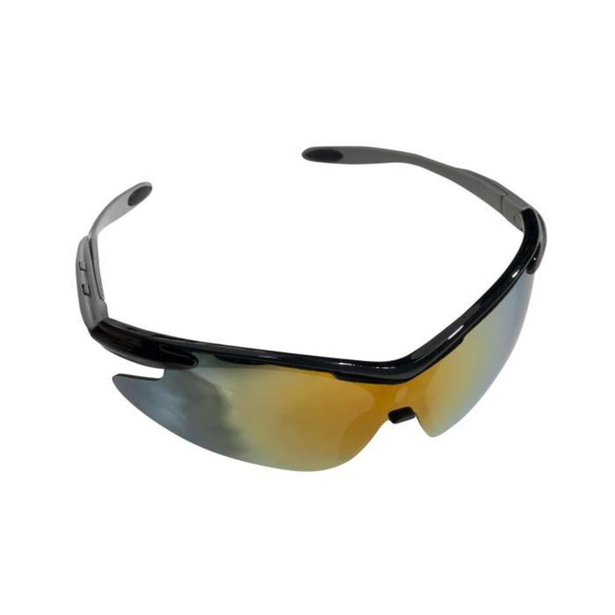 Trespass Taprobane - Lunettes de soleil de sport - Adulte unisexe (Taille unique) (Noir) hYsYCUKtv