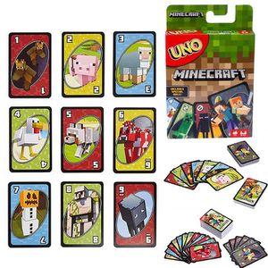 CARTES DE JEU Minecraft UNO jeu de cartes