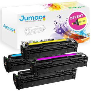 TONER Lot de 4 Toner cartouche compatibles pour HP Color