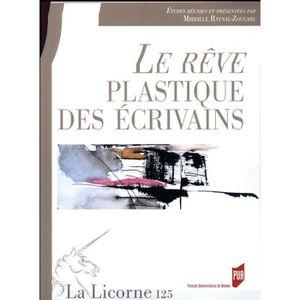 AUTRE LANGUE ÉTRANGÈRE Livre - REVUE LA LICORNE N.125 ; le rêve plastique