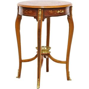 TABLE D'APPOINT Casa Padrino baroque side table with drawer 60 x 3
