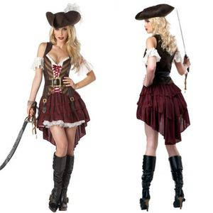 DÉGUISEMENT - PANOPLIE Maquillage HalloweenFemme Pirate Sexy Cosplay Dég
