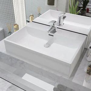 vasque a poser avec robinetterie achat vente pas cher. Black Bedroom Furniture Sets. Home Design Ideas