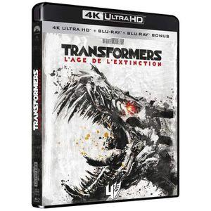 BLU-RAY FILM Transformers Age de l'extinction Bluray 4K