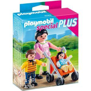 UNIVERS MINIATURE PLAYMOBIL 4782 Maman avec Enfants et Landau