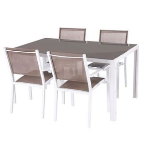 Et Taupe Achat Cher Table Chaise Vente Pas XZkiOPu