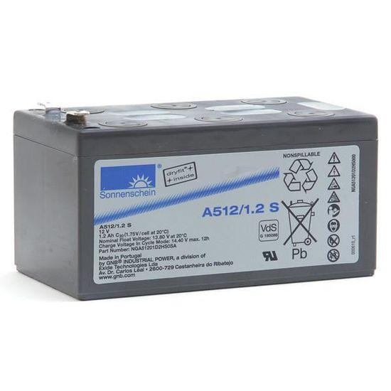 Batterie Plomb-gel 12 V 6.5 Ah GNB Sonnenschein A512//6,5 S