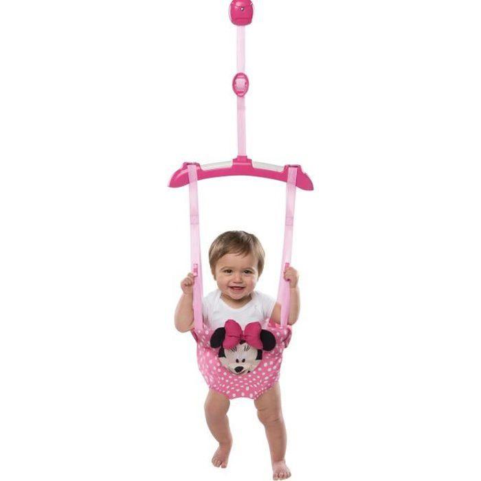 Minnie Sauteur De Porte Youpala Disney Baby Rose Rose Achat
