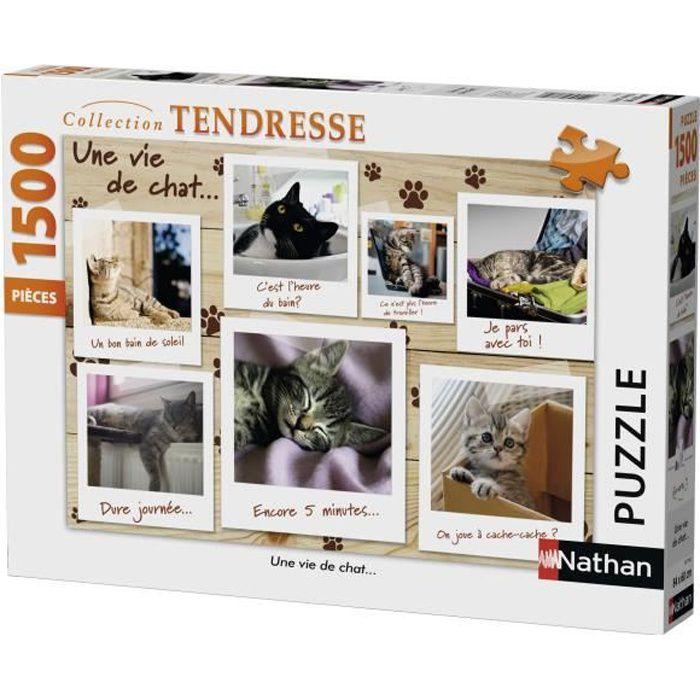 Puzzle 1500 pcs Une Vie De Chat