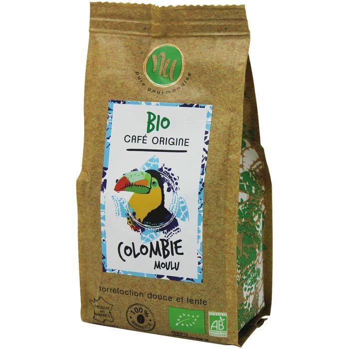 NU Café Bio Colombie Sachet 125g