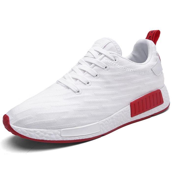 Hommes Basket Mode De Marque De Luxe Chaussures De Sport Haut Qualité Chaussure De Sport Plus De Couleur 39-44,rouge,39