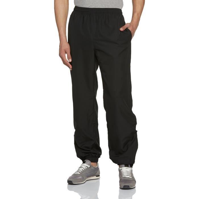 286ce26691 Lacoste Pantalon Survêtement Plaine 1Y4YAK Taille-L Noir Noir ...