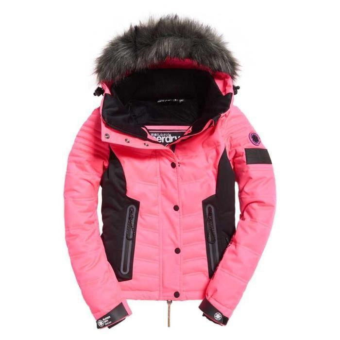 Vêtements femme Vestes Superdry Luxe Snow Puffer