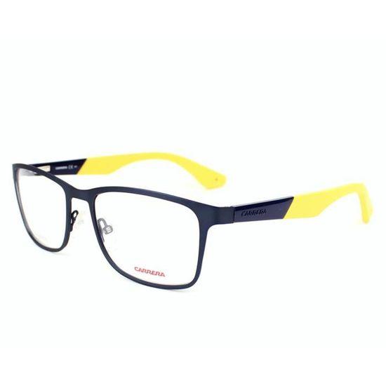 Lunettes de vue Carrera CA5522 -2FN Bleu mat - Jaune Bleu, Jaune - Achat    Vente lunettes de vue Lunettes de vue Carrera CA5... Homme - Soldes  dès le  9 ... 2431e3754922