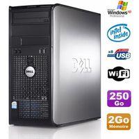 UNITÉ CENTRALE  PC Tour Dell Optiplex 755 MT Intel E5200 2.5GHz 2G