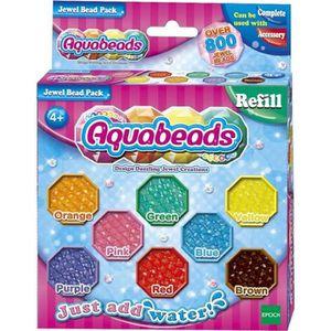 JEU DE PERLE Á REPASSER EPOCH D'ENFANCE Aquabeads perles multifacettes
