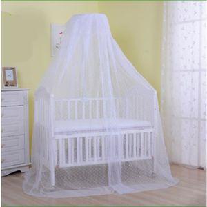 berceau avec ciel de lit achat vente pas cher. Black Bedroom Furniture Sets. Home Design Ideas