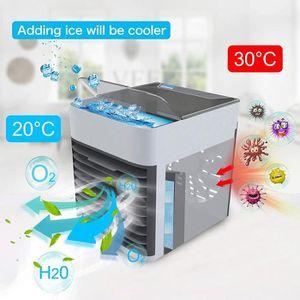 VENTILATEUR Refroidisseur d'air - Mini Climatiseur Portable, V