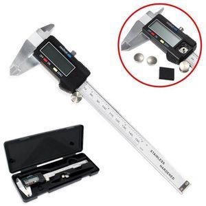 PIED À COULISSE 0-150mm Pied à coulisse Micromètre numérique LCD A