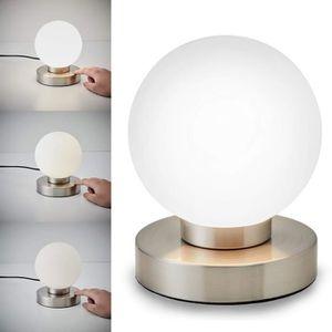 LAMPE A POSER B.K. Licht lampe de chevet tactile 3 intensités, l