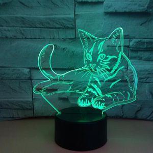 LAMPE A POSER 7 lumière colorée de capteur de contact d'USB de l