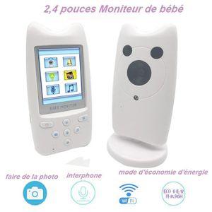 ÉCOUTE BÉBÉ BabyPhone vidéo Sans fil Multifonctions 2,4 pouces