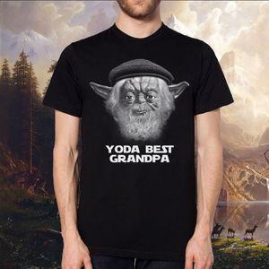 T-SHIRT yoda meilleur grand - père tee - shirt, star wars,